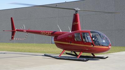 OO-CAT - Robinson R44 Clipper II - Private