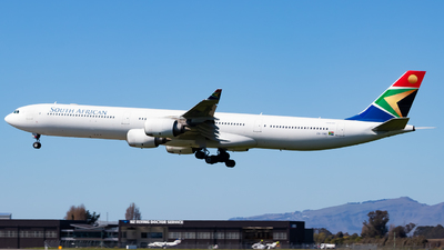A picture of ZSSND - Airbus A340642 - South African Airways - © Cynthia Guo