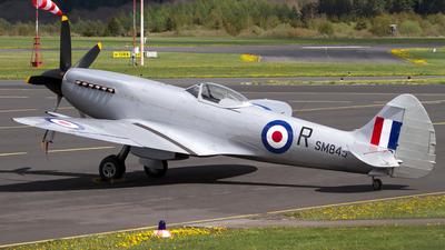 G-BUOS - Supermarine Spitfire XVIIIE - Private