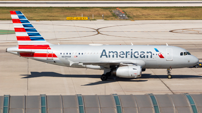 A picture of N839AW - Airbus A319132 - American Airlines - © Saul Hannibal