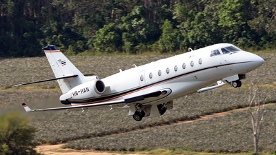 A picture of HSHAN - Gulfstream G200 Galaxy - [153] - © Ratchapon Pipitsombat