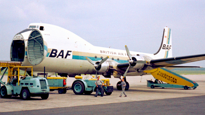 G-APNH - Aviation Traders ATL-98 Carvair - British Air Ferries (BAF)