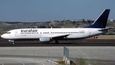 F-GRNZ - Boeing 737-430 - Euralair International