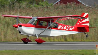 A picture of N3433P - American Champion 7GCAA Citabria Adventure - [42099] - © Joe Osciak