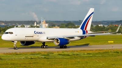 A picture of ECNHF - Boeing 757223(PCF) - Cygnus Air - © Damian Maciejak