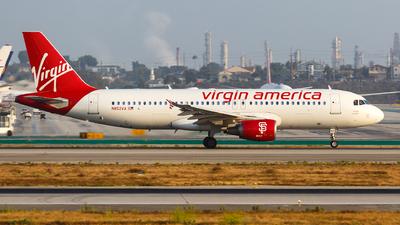 N852VA - Airbus A320-214 - Virgin America