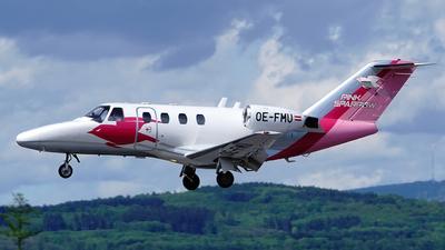 OE-FMU - Cessna 525 CitationJet 1 - Pink Sparrow