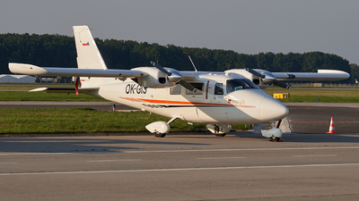OK-GIS - Vulcanair P-68TC - TopGis