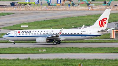 B-5387 - Boeing 737-89L - Air China