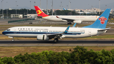 A picture of B5746 - Boeing 73781B - China Southern Airlines - © Lywings