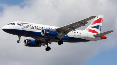 A picture of GEUPT - Airbus A319131 - British Airways - © Robert Smith