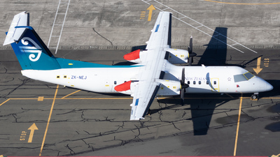 A picture of ZKNEJ - De Havilland Canada Dash 8300 - Air New Zealand - © Reuben Morison