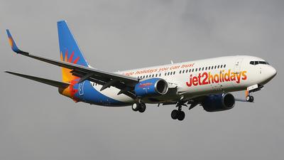 A picture of GJZBC - Boeing 7378MG - Jet2 - © Nigel Fenwick