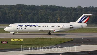 F-GLIR - Fokker 100 - Air France (Régional Compagnie Aerienne)