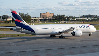 A picture of CCBGB - Boeing 7879 Dreamliner - LATAM Airlines - © JTPAviation