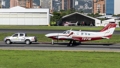TG-TIN - Cessna 414A Chancellor - Private
