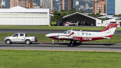 A picture of TGTIN - Cessna 414A Chancellor - [414A0274] - © Ariel Castillo Morales