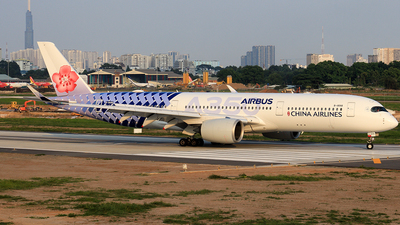 A picture of B18918 - Airbus A350941 - China Airlines - © Toanla_SFAP