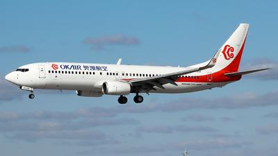 B-1337 - Boeing 737-8KF - OK Air