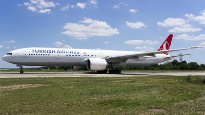 A picture of TCLJJ - Boeing 7773F2(ER) - Turkish Airlines - © Mihai Cioponea