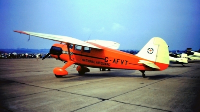 G-AFVT - Stinson SR-9E Reliant - Private