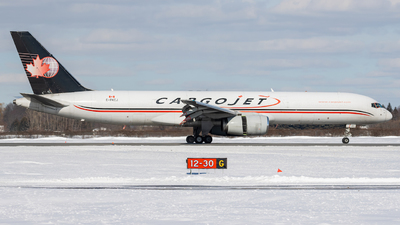 A picture of CFKCJ - Boeing 757236(PCF) - Cargojet Airways - © Michael MacLeod