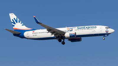 A picture of TCSNV - Boeing 73786J - SunExpress - © Eren Erol