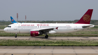A picture of B9978 - Airbus A320214 - Juneyao Air - © Lazy Clutch