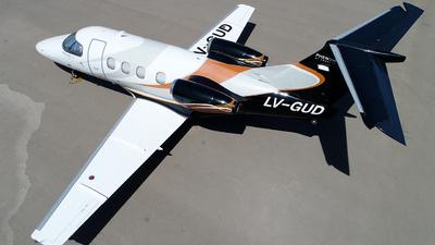 A picture of LVGUD - Embraer Phenom 100 - [50000255] - © Alejandro Venier