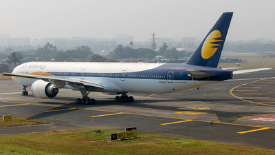 N351BU - Boeing 777-35RER - Jet Airways