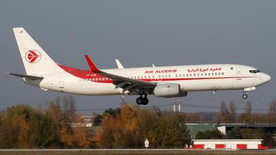 7T-VJN - Boeing 737-8D6 - Air Algérie