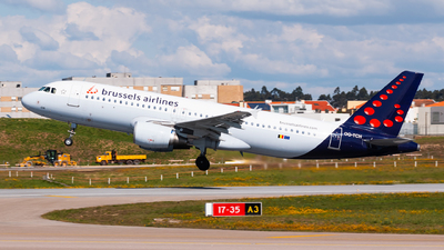 A picture of OOTCH - Airbus A320214 - Brussels Airlines - © Bárbara Costa