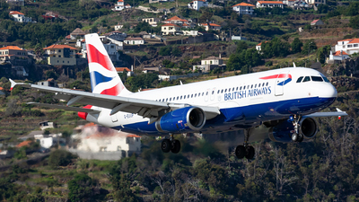 A picture of GEUUP - Airbus A320232 - British Airways - © Nelson Sousa