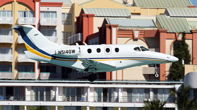 N514GW - Hawker Beechcraft 390 Premier IA - Private