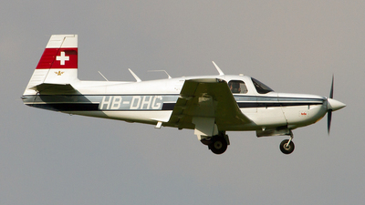 HB-DHG - Mooney M20K-231 - Private