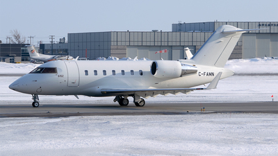 C-FAMN - Bombardier CL-600-2B16 Challenger 604 - Bombardier Aerospace