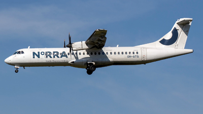 OH-ATG - ATR 72-212A(500) - Nordic Regional Airlines NORRA