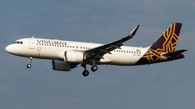 A picture of VTTNY - Airbus A320251N - Vistara - © Jai Jaggi