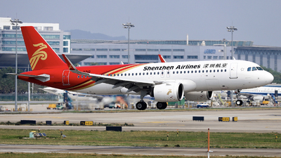 A picture of B321Q - Airbus A320271N - Shenzhen Airlines - © nibrage