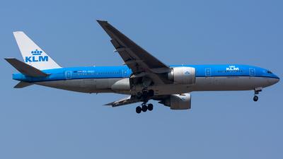 PH-BQD - Boeing 777-206(ER) - KLM Royal Dutch Airlines