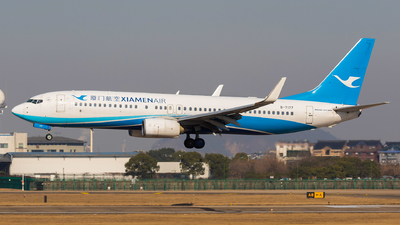 A picture of B7177 - Boeing 73785C - Xiamen Air - © Aircraft carrier FX