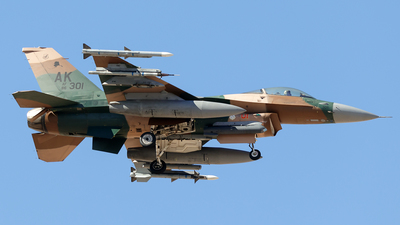 86-0301 - General Dynamics F-16C Fighting Falcon - United States - US Air Force (USAF)