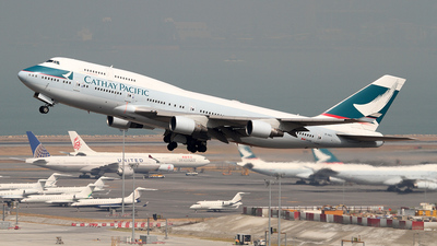 B-HKU - Boeing 747-412 - Cathay Pacific Airways