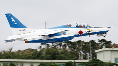26-5686 - Kawasaki T-4 - Japan - Air Self Defence Force (JASDF)