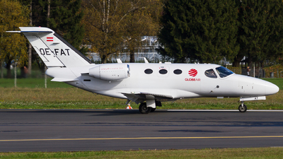 OE-FAT - Cessna 510 Citation Mustang - GlobeAir