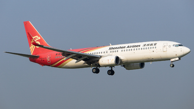 A picture of B5772 - Boeing 73787L - Shenzhen Airlines - © Roy Huang