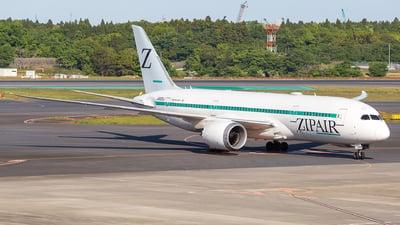 JA825J - Boeing 787-8 Dreamliner - Zipair