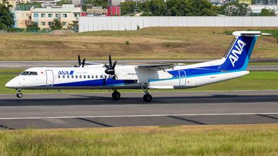 A picture of JA857A - De Havilland Canada Dash 8400 - All Nippon Airways - © Tokubee