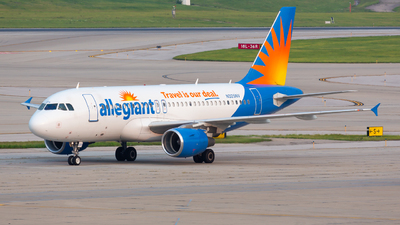 A picture of N325NV - Airbus A319111 - Allegiant Air - © Donald  E Moore