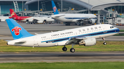B-6201 - Airbus A319-115 - China Southern Airlines